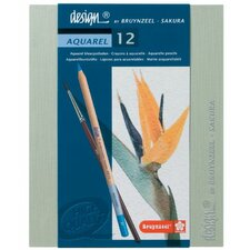 Aquarel Watercolor Pencil (Set of 12)