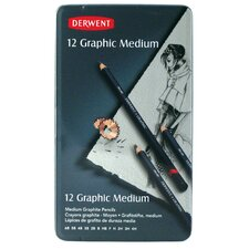 Graphic Drawing Pencil (Set of 12)