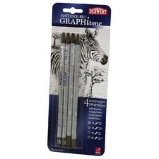 Graphitone Water Soluble Graphite Stick (Set of 4)