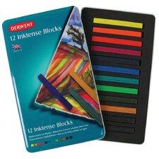 Inktense 12 Piece Block Color Set