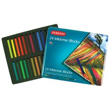 <strong>Derwent</strong> Inktense 24 Piece Block Color Set