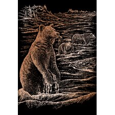 Grizz Bears Art Engraving