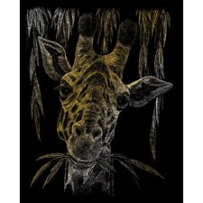 Giraffe Art Engraving