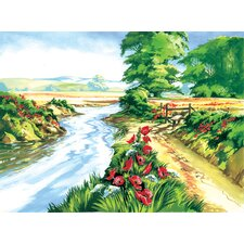 Painting by Numbers Poppy Field Set