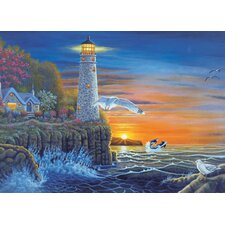 Painting by Numbers Waterside Lighthouse Adult Set