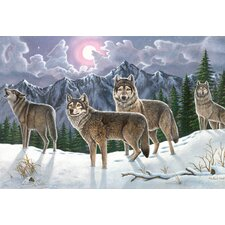 Painting by Numbers Wolves Adult Set