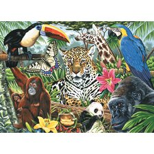 Painting by Numbers Artist Canvas Series Zoo Montage Set