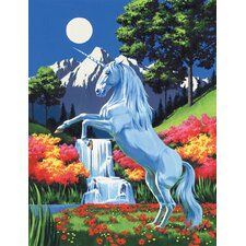 Painting by Numbers Artist Canvas Series Unicorn Set