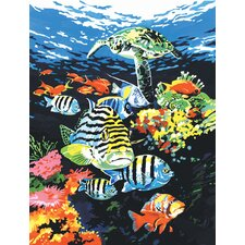 Painting by Numbers Artist Canvas Series Ocean Deep Set