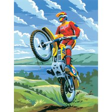 Painting by Numbers Junior Small Motocross Set