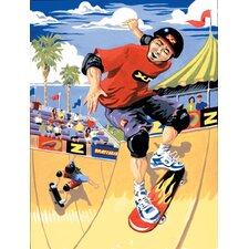 Painting by Numbers Small Skateboarder Junior Set