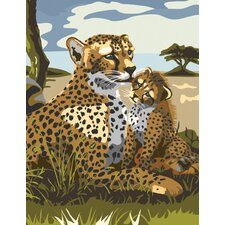 Painting by Numbers Junior Small Leopard Set