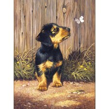 Painting by Numbers Junior Small Dachshund Pup Painting Print