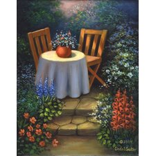 Paint Your Own Masterpiece Garden Table Set
