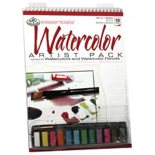 Essentials Artist Pack Paper and Media Watercolor Pan