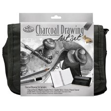 Charcoal Drawing Satchel Art Set