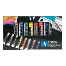 Academy Watercolor Paint (Set of 10)