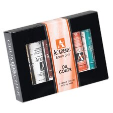 Academy Oil Paints (Set of 6)