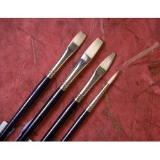 Chinese Bristle Filbert Brush