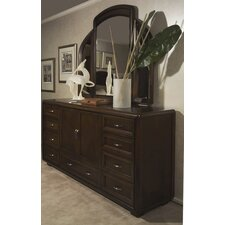 Fifth Avenue 12 Drawer Combo Dresser