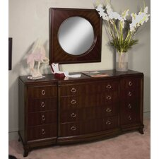 <strong>Leda Furniture</strong> Astoria 12 Drawer Dresser