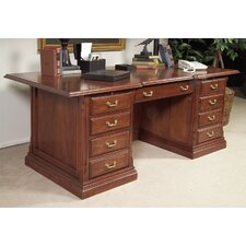 Classics Executive Desk with Drawers