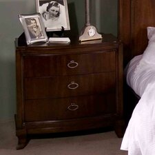 Astoria 3 Drawer Nightstand