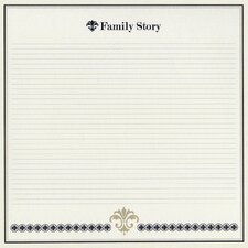 Heritage Family Story Cardstock (Set of 25)