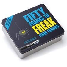 Marvin's 50 Piece Pranks to Freak Your Friends Gift Set