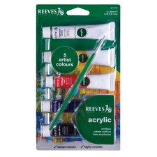 <strong>Reeves</strong> Acrylic Paint (Set of 5)