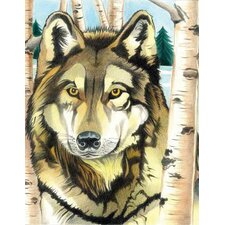Colored Pencil By Numbers Intermediate Medium Wolf Colored Pencil