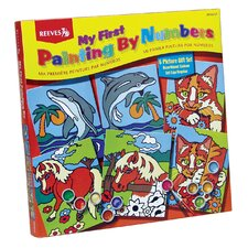 Paint By Numbers Gift Set