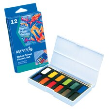 <strong>Reeves</strong> Watercolor Pocket Set (Set of 12) (Set of 12)