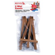 <strong>Reeves</strong> Mini Easels in Poly Bag (Set of 2)