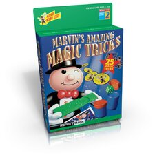 Marvin's Amazing Magic Tricks Box 25 Piece Set