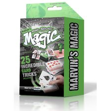 Marvin's Mind Blowing Incredible Card Tricks Box 25 Piece Set