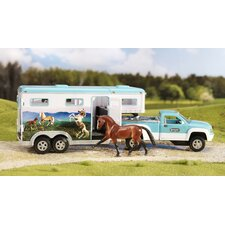 Breyer Pick Up Truck and Gooseneck Trailer