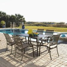<strong>Panama Jack Outdoor</strong> Island Breeze 7 Piece Dining Set