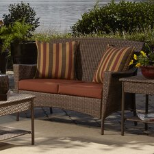 Key Biscayne Loveseat with Cushion