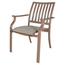 Island Breeze Stacking Dining Arm Chair