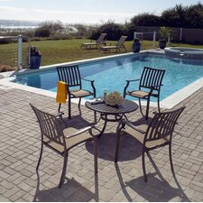 <strong>Panama Jack Outdoor</strong> Island Breeze 5 Piece Dining Set