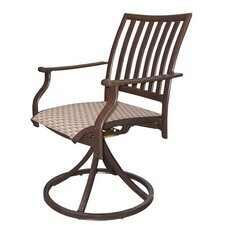 Island Breeze Swivel Rocking Dining Arm Chair