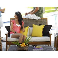 <strong>Panama Jack Outdoor</strong> Leeward Islands Loveseat with Cushions