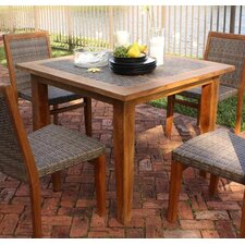 <strong>Panama Jack Outdoor</strong> Leeward Islands Square Dining Table