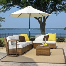 St Barths 8 Piece Deep Seating Group with Cushion