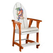Parrot Balcony Adirondack Chair