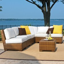 St Barths 7 Piece Deep Seating Group with Cushion