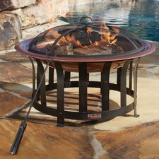Copper Plated Fire Pit II