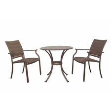 Island Cove 3 Piece Bistro Dining Set