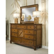 Island Breeze Dresser with Mirror